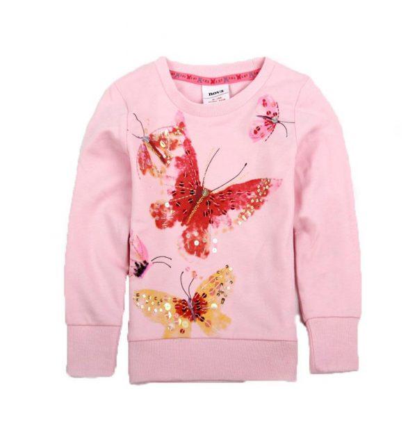 реглан для девочки бабочка 28015 фотография