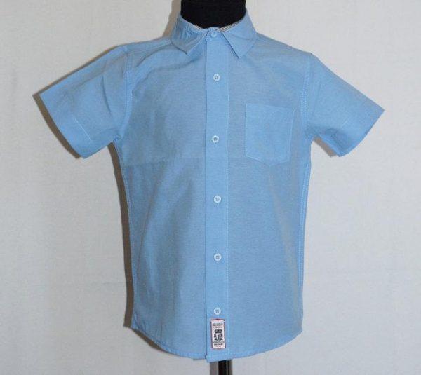рубашка для мальчика подростка с коротким рукавом 708166 фотография