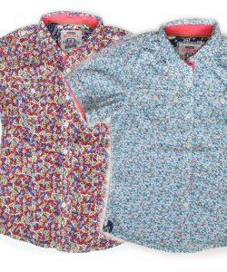 рубашка на лето для мальчика с коротким рукавом на 4-14 лет 2077 фотография