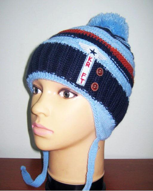 шапка для мальчика зимняя kraft 1717 фотография