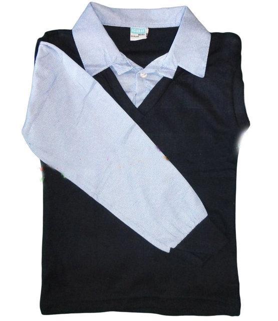 школьная рубашка-обманка для мальчика 80816 фотография
