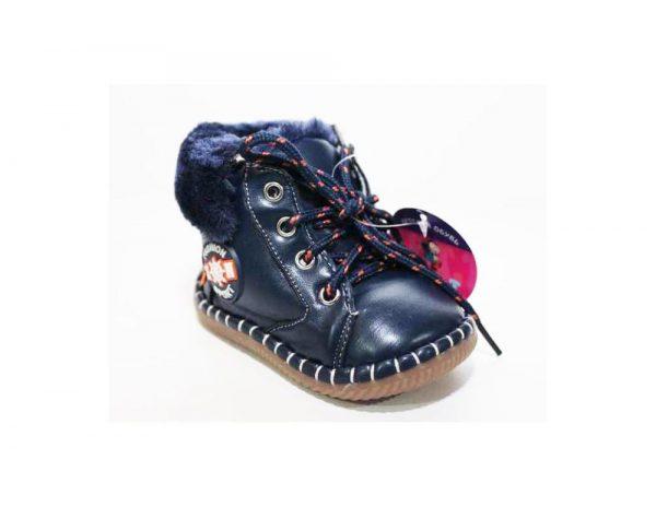 детская зимняя обувь для самых маленьких, пинетки 9222 фотография