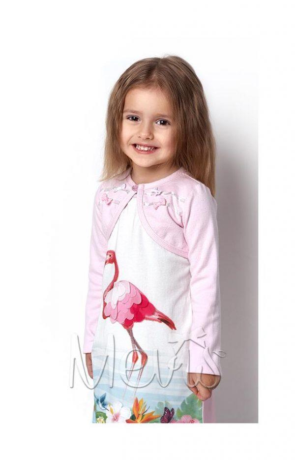 детское трикотажное болеро на девочку 2280 фотография