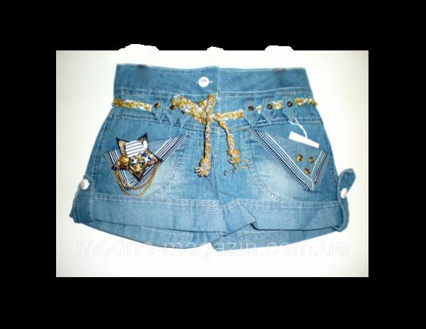 шорты джинсовые на девочку 225 фотография