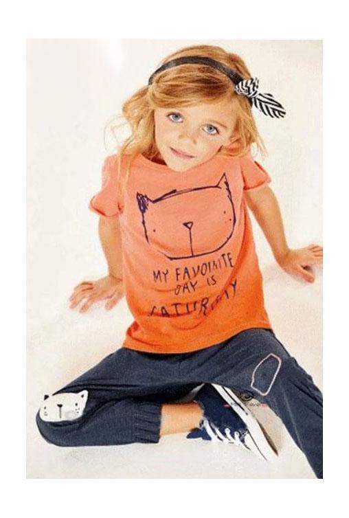 спортивный комплект для девочки кот 2904161 фотография