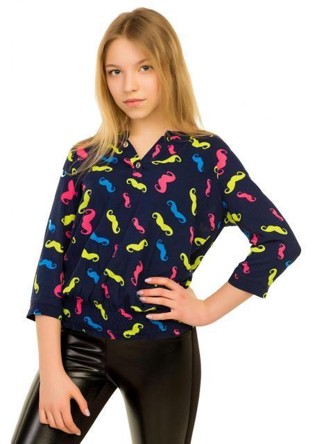 стильная детская блуза для девочки 2704162 фотография