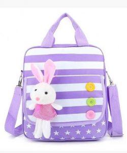сумка детская ранец кролик сереневая кролик сиреневый фотография