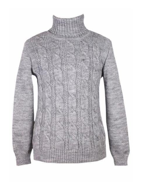 свитер на мальчика с высоким горлом 15866 фотография