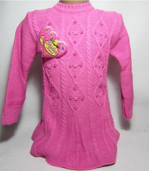 свитер туника на девочку 29015 фотография