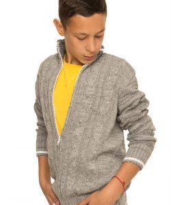 теплая детсткая кофта для мальчика подростка 301116 фотография