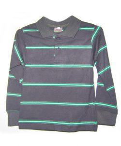 трикотажная рубашка поло для мальчика 175705 фотография