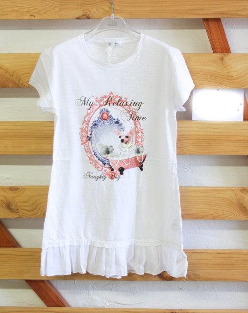 трикотажное платье-туника на девочку подростка gaialuna 26051711 фотография