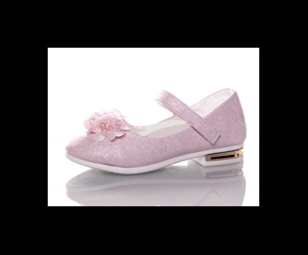 туфли для девочки нарядные 98-2 розовые 27-31 98-2 фотография