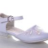 туфли для девочки праздничные белые 26-31 51-13 фотография №2