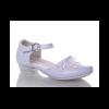 туфли для девочки праздничные белые 26-31 51-13 фотография №1