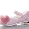туфли для девочки с меховой брошью 27-31 95-2 фотография №2
