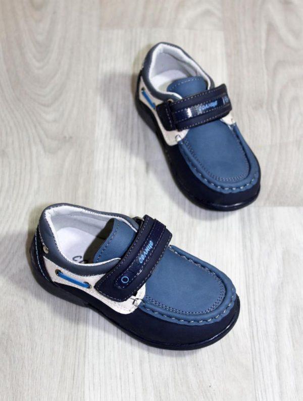 туфли для маленького мальчика на липучке, 21-26 9200 фотография