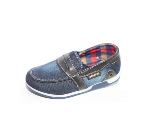 туфли мокасины для мальчика, 26-30 3937 фотография