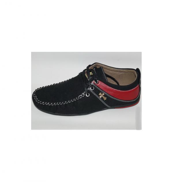 туфли для мальчика подростка на шнуровке 1062 фотография