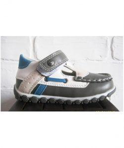 туфли для маленького мальчика на липучке 40315 фотография