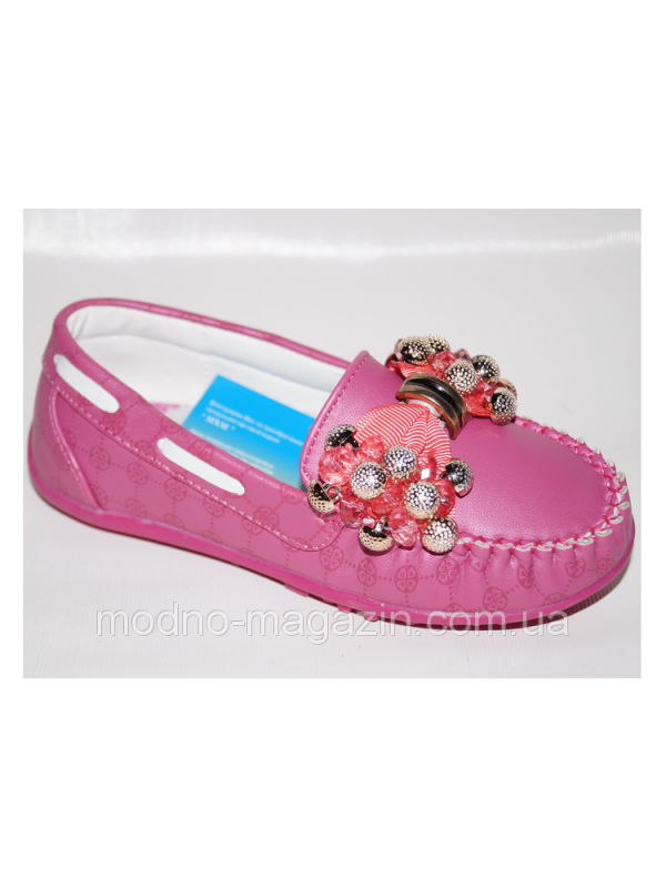 туфли мокасины для девочки 4558 фотография