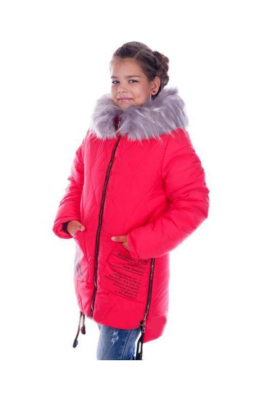 зимняя куртка для девочки подростка, перфект 511177 фотография