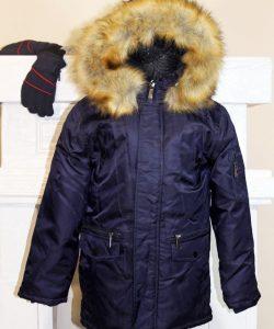 зимняя куртка на мальчика подростка парка 5088 фотография