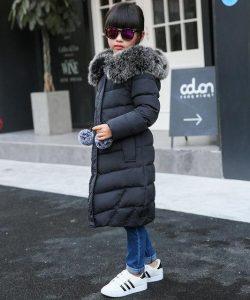 детское зимнее пальто на девочку, викки 39250 фотография