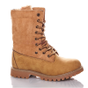 зимние высокие ботинки для девочки подростка тимбер, 33-38 8269 фотография №6