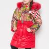 зимнее пальто на девочку 6327 фотография №1