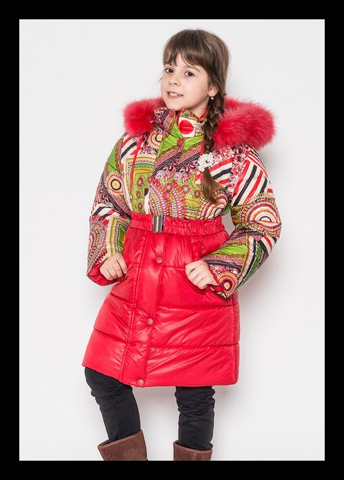 зимнее пальто на девочку 6327 фотография