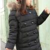зимнее пальто пуховик на девочку 1006 фотография №2