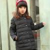 зимнее пальто пуховик на девочку 1006 фотография №1