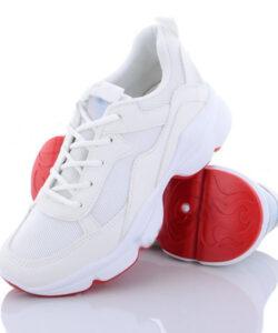 кроссовки женские сетка белые 10720 10720 фотография