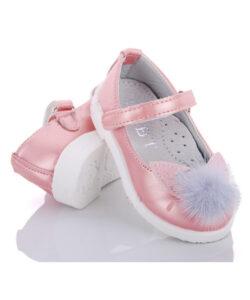 туфли для девочки на праздник розовые 2565 2565 фотография