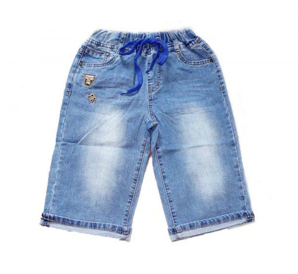 бриджи на мальчика джинсовые на резинке 5505 фотография