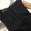 брюки на мальчика philipp plein черные 170420 фотография №6