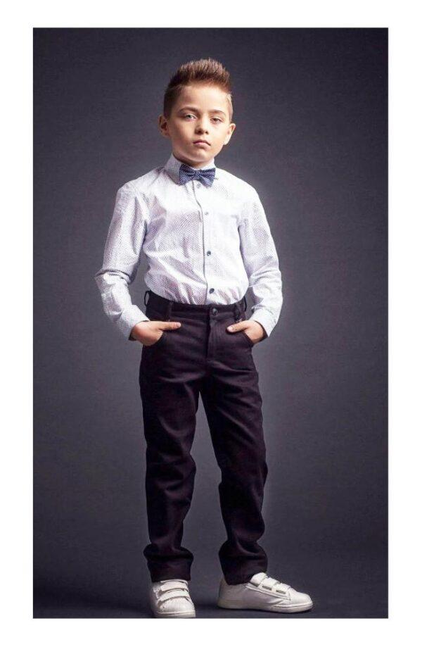 брюки на мальчика philipp plein черные 170420 фотография