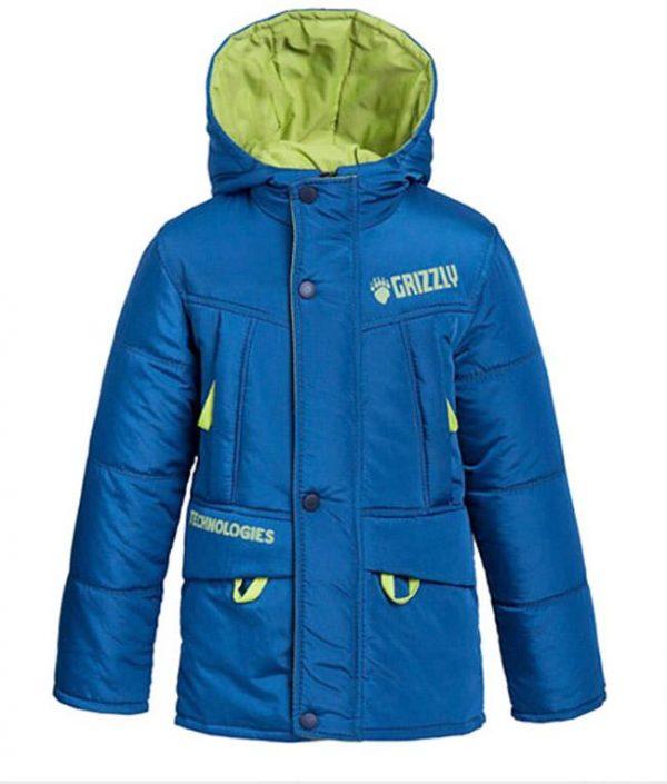 детская куртка для мальчика весна осень, гризли 2121 фотография