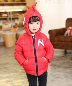 детская куртка тонкий пуховик дракоша 2409162 фотография