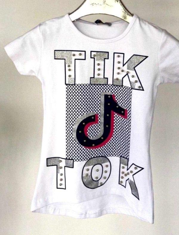 футболка на девочку тикток 110420 110420 фотография