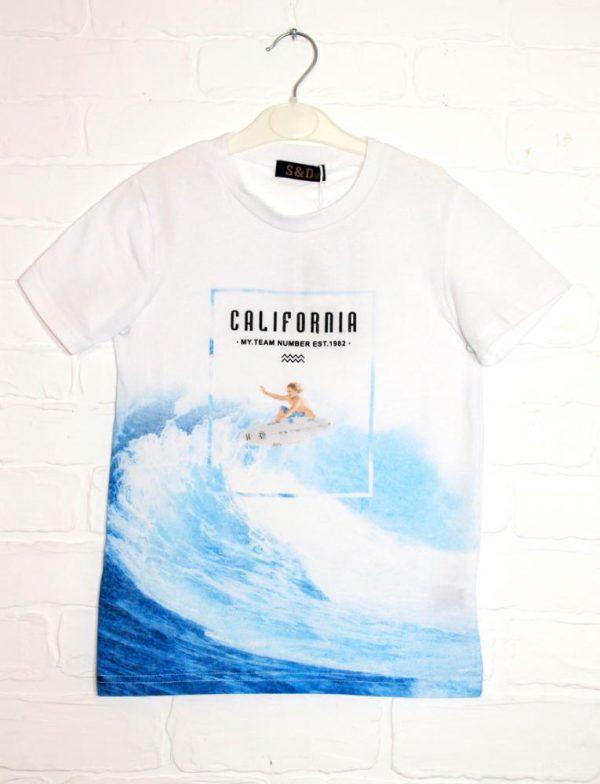 футболка на мальчика california 8844 8844 фотография