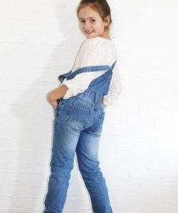 комбинезон джинсовый на девочку подростка бойфренд 3830 3830 фотография