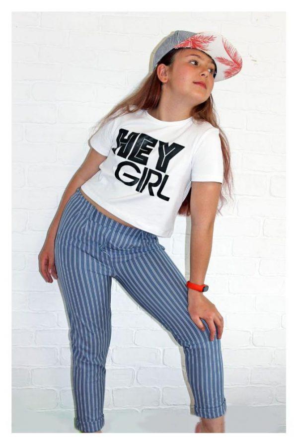 костюм брючный на девочку hey girl 30620 фотография