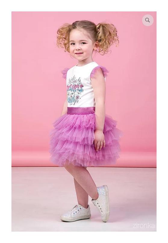 костюм для девочки с пышной юбкой мечты 90185 фотография