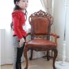 костюм на девочку с брючками кошечка 140118 фотография №5