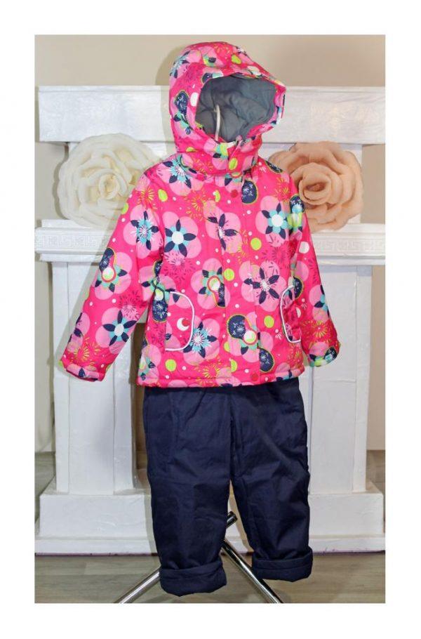 костюм на девочку с комбинезоном termo sport 8926 фотография