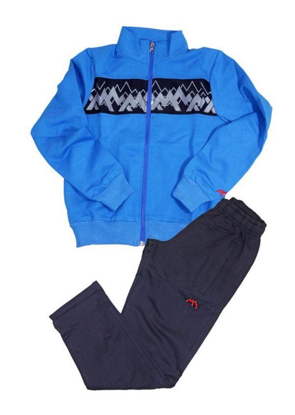 костюм спортивный для мальчика подростка синий 405202 405202 фотография