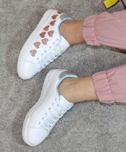 кроссовки белые 405201 фотография