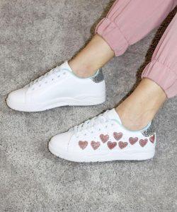 кроссовки chiara ferragni белые 40520 40520 фотография